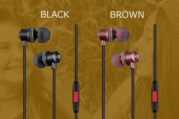 Amber Series Earphones